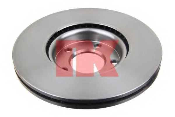 Тормозной диск NK 203253 - изображение