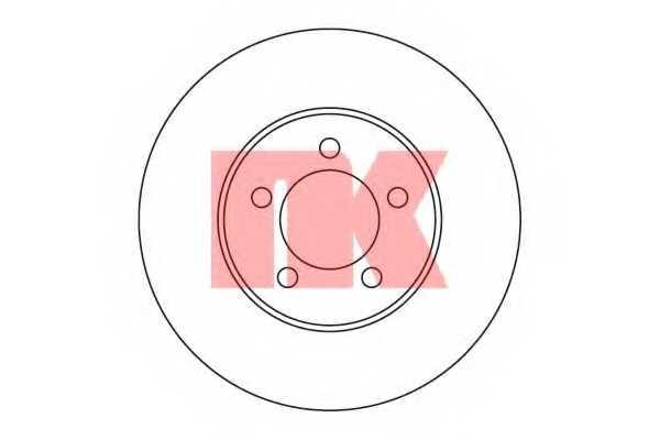 Тормозной диск NK 203263 - изображение