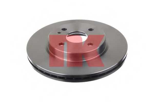 Тормозной диск NK 203267 - изображение