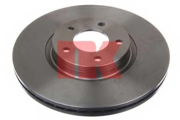 Тормозной диск NK 203272 - изображение