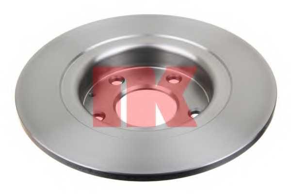 Тормозной диск NK 203280 - изображение