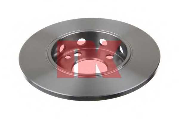 Тормозной диск NK 203306 - изображение
