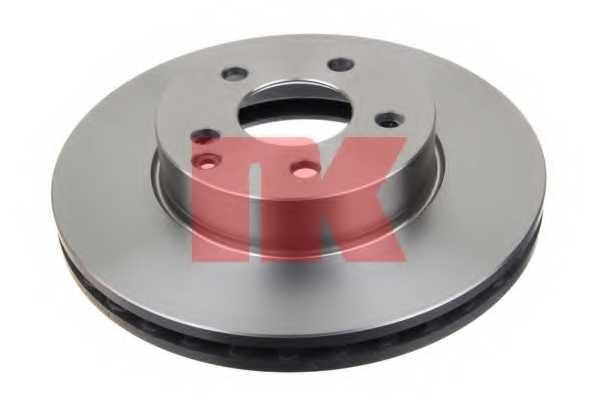 Тормозной диск NK 2033100 - изображение 1