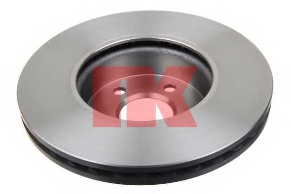 Тормозной диск NK 2033100 - изображение