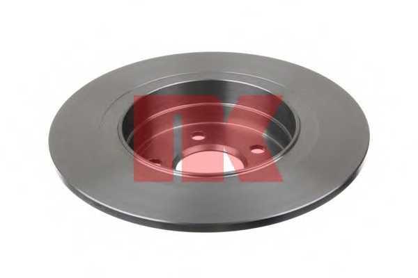 Тормозной диск NK 2033101 - изображение