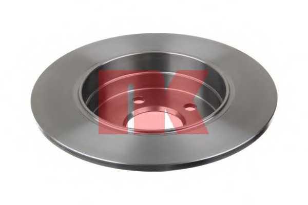 Тормозной диск NK 2033104 - изображение 1