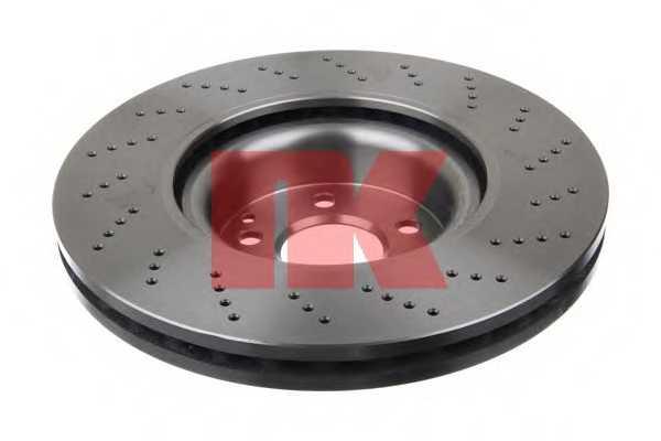 Тормозной диск NK 2033108 - изображение 1