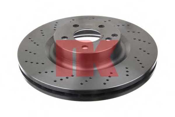 Тормозной диск NK 2033108 - изображение