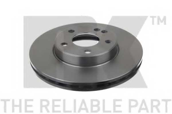 Тормозной диск NK 2033111 - изображение 1