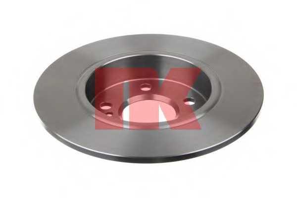 Тормозной диск NK 2033113 - изображение 1