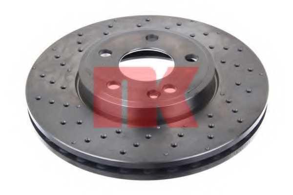 Тормозной диск NK 2033116 - изображение 1