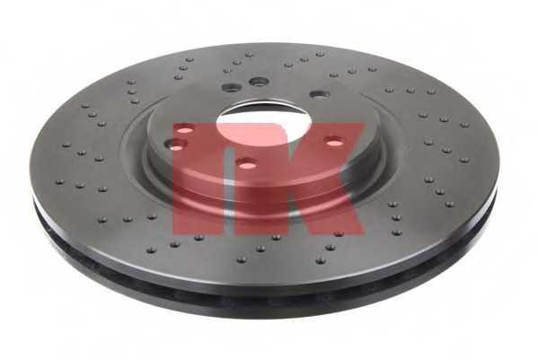 Тормозной диск NK 2033117 - изображение