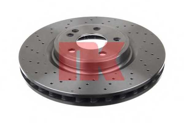 Тормозной диск NK 2033124 - изображение 1