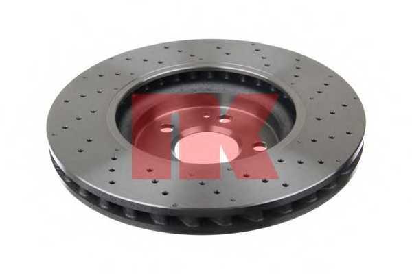 Тормозной диск NK 2033124 - изображение