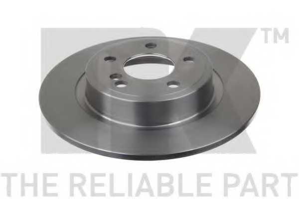 Тормозной диск NK 2033126 - изображение 1