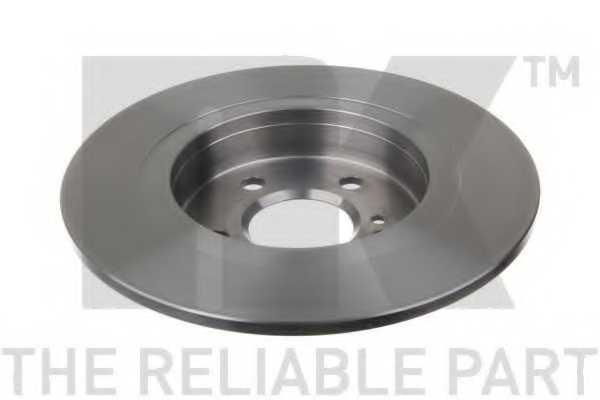 Тормозной диск NK 2033126 - изображение