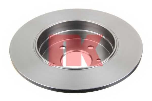 Тормозной диск NK 203326 - изображение 1