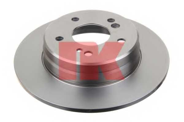 Тормозной диск NK 203326 - изображение