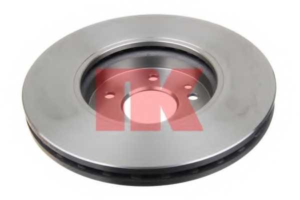 Тормозной диск NK 203341 - изображение