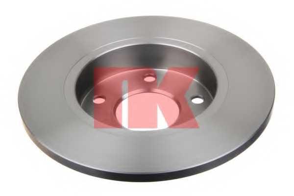 Тормозной диск NK 203345 - изображение 1