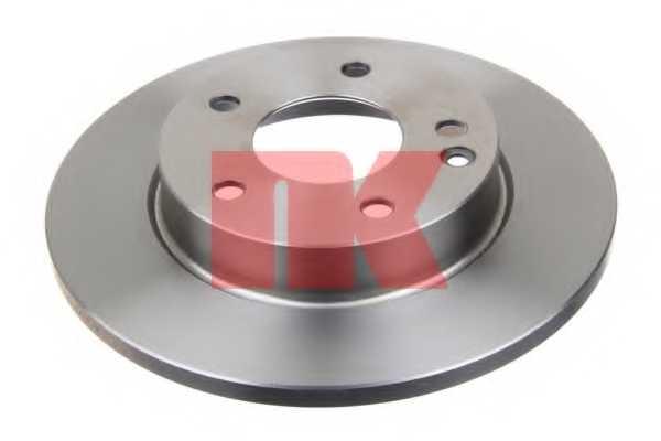 Тормозной диск NK 203345 - изображение