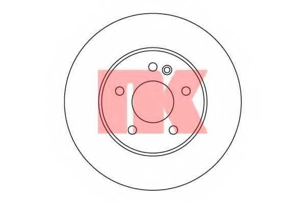 Тормозной диск NK 203347 - изображение