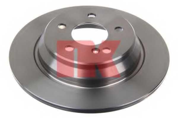 Тормозной диск NK 203365 - изображение
