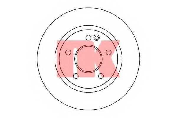 Тормозной диск NK 203369 - изображение
