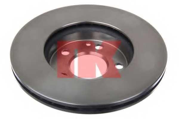 Тормозной диск NK 203372 - изображение 1