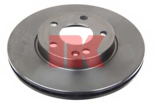 Тормозной диск NK 203372 - изображение