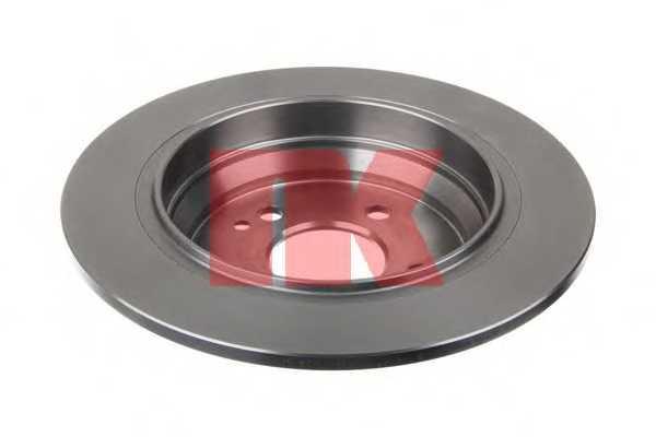 Тормозной диск NK 203376 - изображение