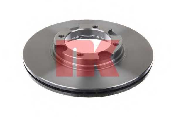 Тормозной диск NK 203402 - изображение 1