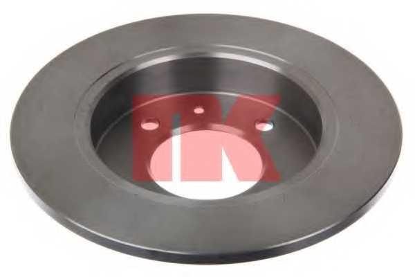 Тормозной диск NK 203406 - изображение 1