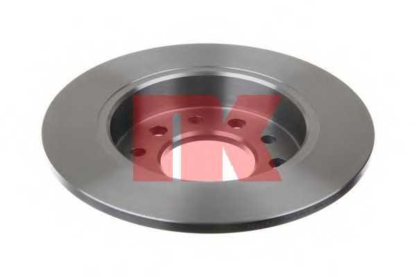 Тормозной диск NK 203426 - изображение