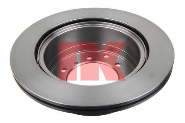Тормозной диск NK 203427 - изображение