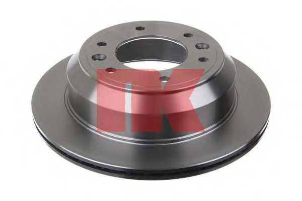 Тормозной диск NK 203437 - изображение 1