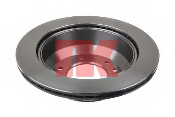 Тормозной диск NK 203437 - изображение