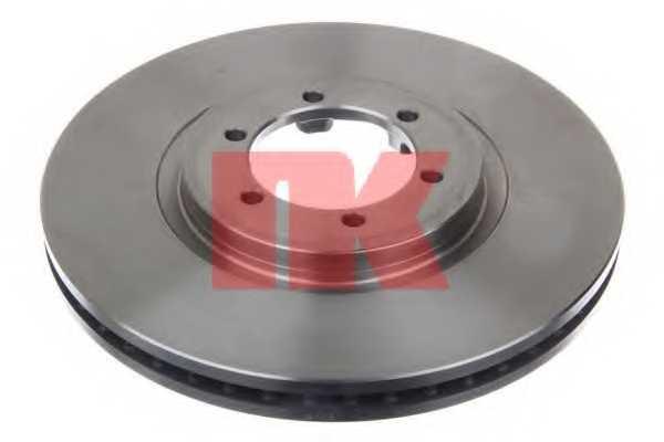 Тормозной диск NK 203439 - изображение 1