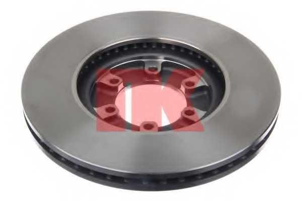 Тормозной диск NK 203439 - изображение