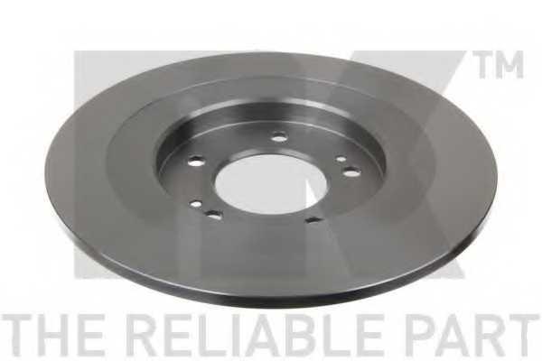 Тормозной диск NK 203444 - изображение 1