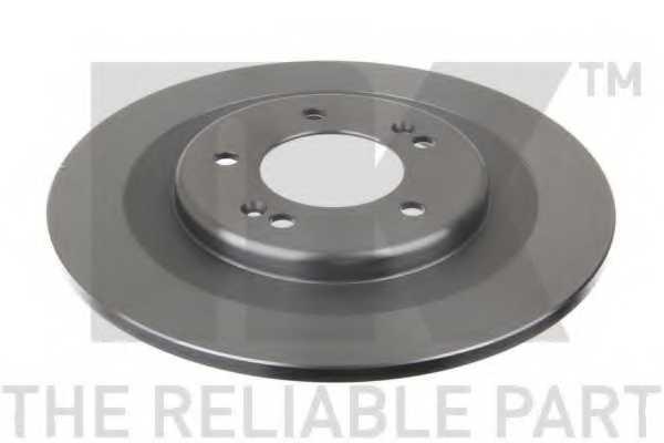 Тормозной диск NK 203444 - изображение