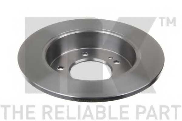 Тормозной диск NK 203446 - изображение 1