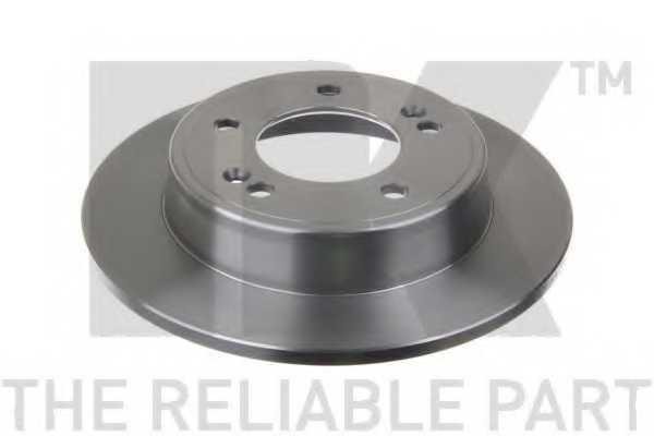 Тормозной диск NK 203446 - изображение
