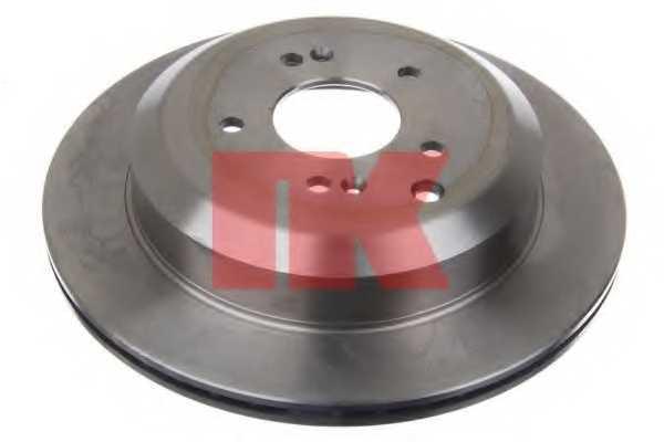Тормозной диск NK 203448 - изображение 1