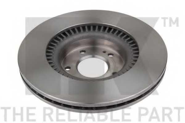 Тормозной диск NK 203451 - изображение 1