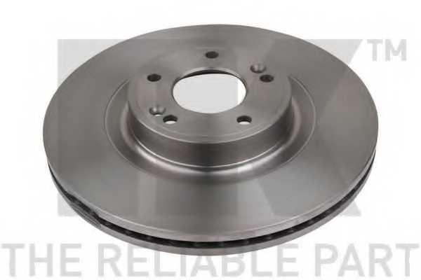 Тормозной диск NK 203451 - изображение