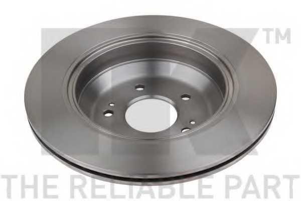 Тормозной диск NK 203454 - изображение 1