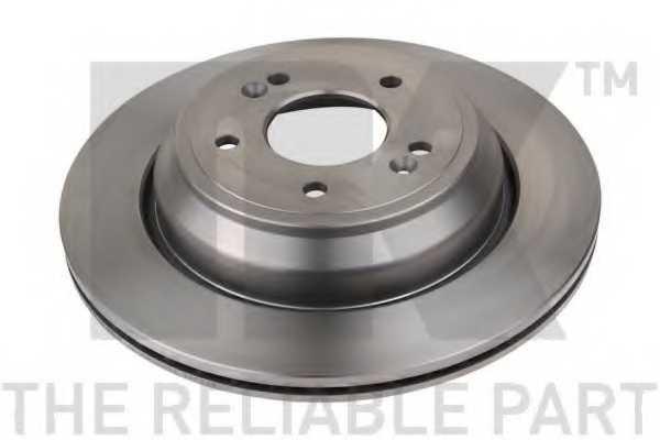 Тормозной диск NK 203454 - изображение