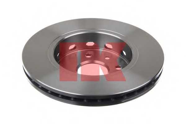 Тормозной диск NK 203507 - изображение 1