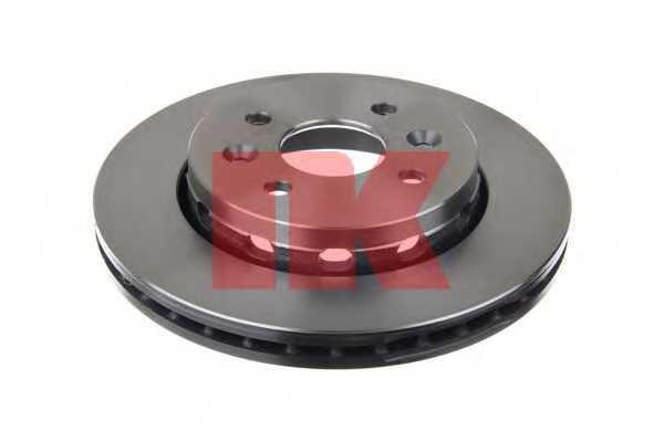 Тормозной диск NK 203507 - изображение